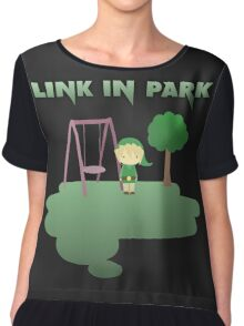 Link in park Chiffon Top