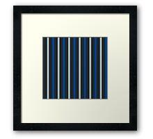 BLUE TRUFLE Framed Print