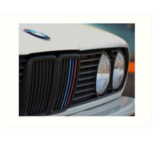 BMW E30 M3 Convertible Art Print