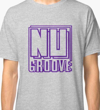 NU GROOVE PURPLE Classic T-Shirt