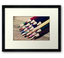 Colorful life 2 Framed Print