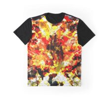 Butterfly, Horse and Flower Graphic T-Shirt