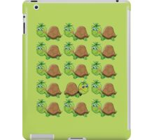 Just Be Yourself Cute Turtle Pattern iPad Case/Skin