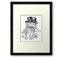 Steampunk Pappy Framed Print