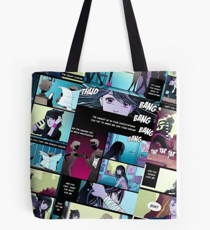 Silent Scream Comic  Tote Bag