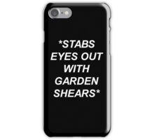 Cordelia Foxx American Horror Story Case (Black) iPhone Case/Skin