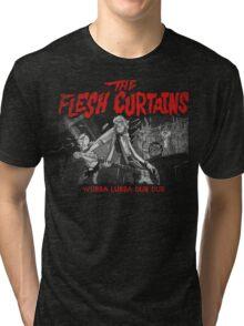 The Flesh Curtains Tri-blend T-Shirt