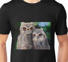 White Owls Unisex T-Shirt