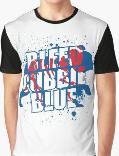 Bleed Cubbie Blue Graphic T-Shirt