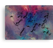 World map special 1 Canvas Print
