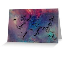 World map special 1 Greeting Card