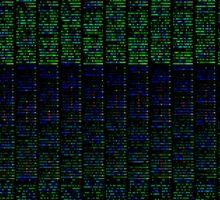 Algorithm Generated Art  Sticker