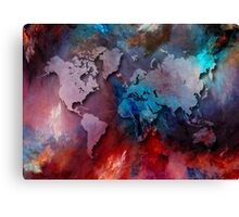 World map special 2 Canvas Print