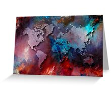 World map special 2 Greeting Card