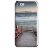 Aberavon beach handrail iPhone Case/Skin