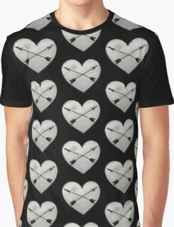 heart with crossed arrows Graphic T-Shirt