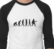 Evolution mailman Men's Baseball ¾ T-Shirt