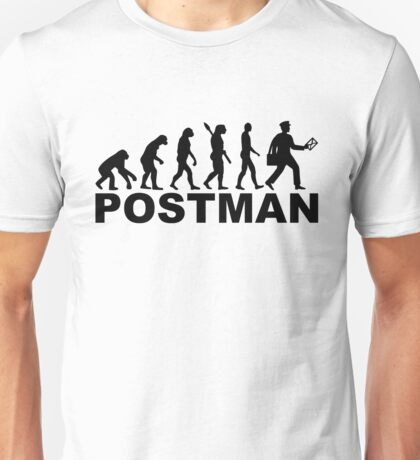Evolution postman Unisex T-Shirt