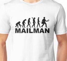 Evolution mailman Unisex T-Shirt