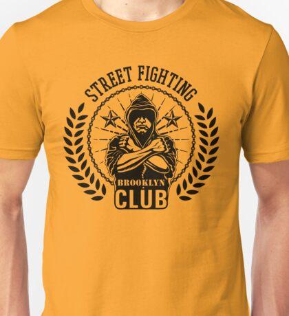 Street fight emblem Brooklyn Club black Unisex T-Shirt