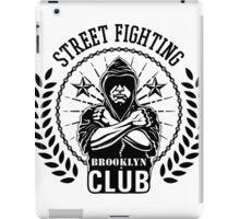 Street fight emblem Brooklyn Club black iPad Case/Skin