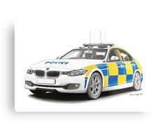 Midlands Police BMW Metal Print