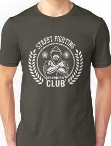 Street fight emblem Brooklyn Club white Unisex T-Shirt