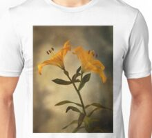 Yellow Lily on stem Unisex T-Shirt