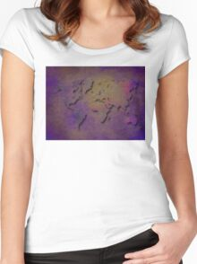 World map special 3 Women's Fitted Scoop T-Shirt