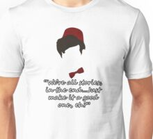 11th Doctor Who  Unisex T-Shirt