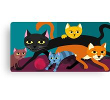 Cats & Kittens Canvas Print