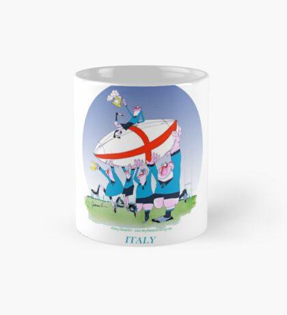 Italian Rugby 3 cheers, tony fernandes Mug