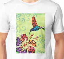 Nature's Harmony 2 - Hummingbird Art By Sharon Cummings Unisex T-Shirt