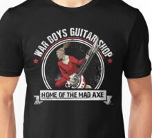War Boys Guitar Shop Unisex T-Shirt