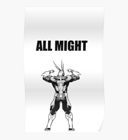 ALL MIGHT Poster