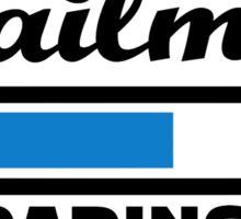 Mailman loading Sticker
