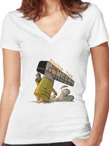 Videogames :: Enter the Gungeon  Women's Fitted V-Neck T-Shirt