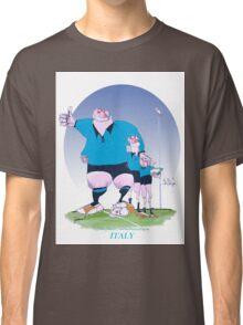 Italian Rugby Chums, tony fernandes Classic T-Shirt