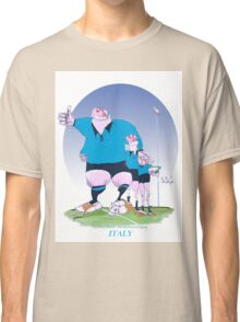 Italian Rugby Chums, tony fernandes Classic T-Shirt