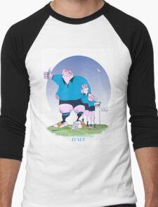Italian Rugby Chums, tony fernandes Men's Baseball ¾ T-Shirt