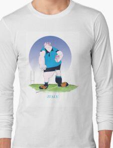 Italian Rugby, tony fernandes Long Sleeve T-Shirt