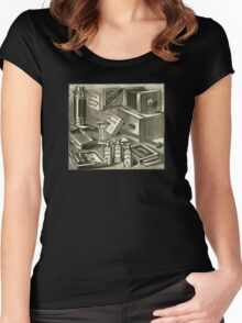 A Practical Photographic Outfit 1889 Women's Fitted Scoop T-Shirt