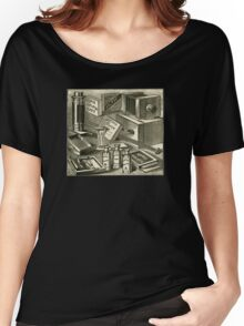 A Practical Photographic Outfit 1889 Women's Relaxed Fit T-Shirt