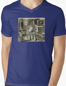 A Practical Photographic Outfit 1889 Mens V-Neck T-Shirt