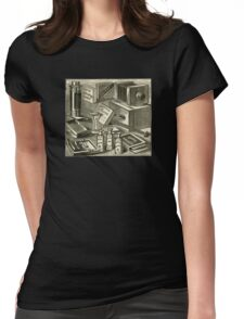 A Practical Photographic Outfit 1889 Womens Fitted T-Shirt