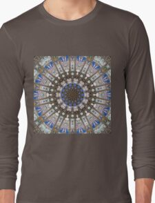 Glass Cathedral Medieval Builders Twelve Long Sleeve T-Shirt