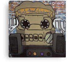PLAID REST PROOF CLOCKWORK Canvas Print