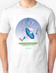 Italian Rugby keep calm, tony fernandes Unisex T-Shirt