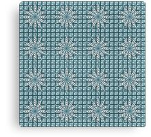 Strange floral pattern Canvas Print