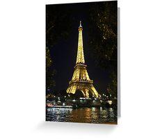 EIFFLE TOWER Greeting Card